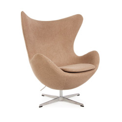 Jacobsen Egg Chair - Cashmere