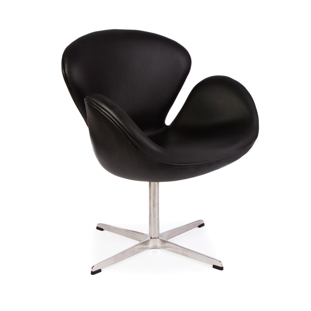Jacobsen Swan Leather Chair