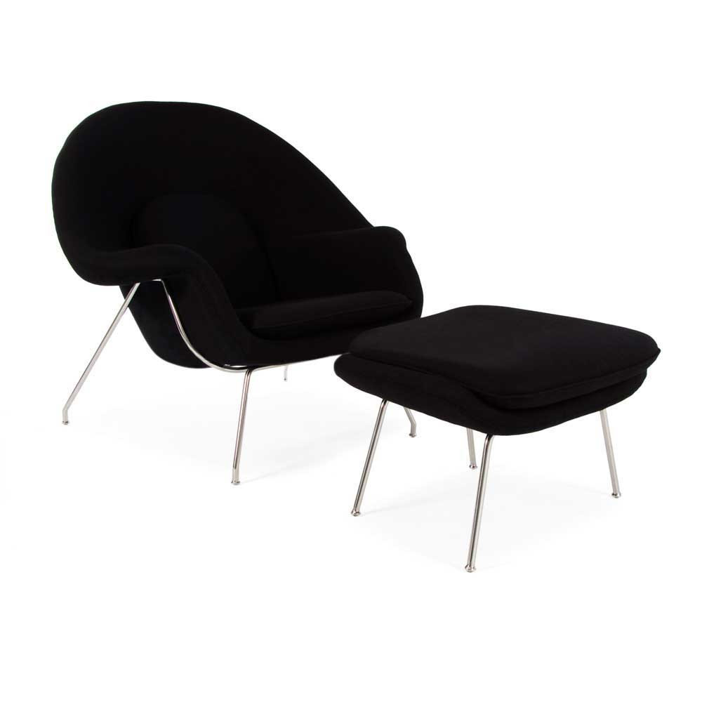 armchair saarinen chair tollgard womb furniture knoll