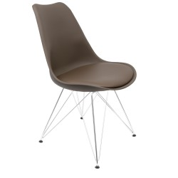Lips DSR Black Legs Chair