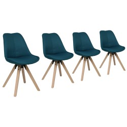 Lips SPWS Upholstered Chair Pack of 4