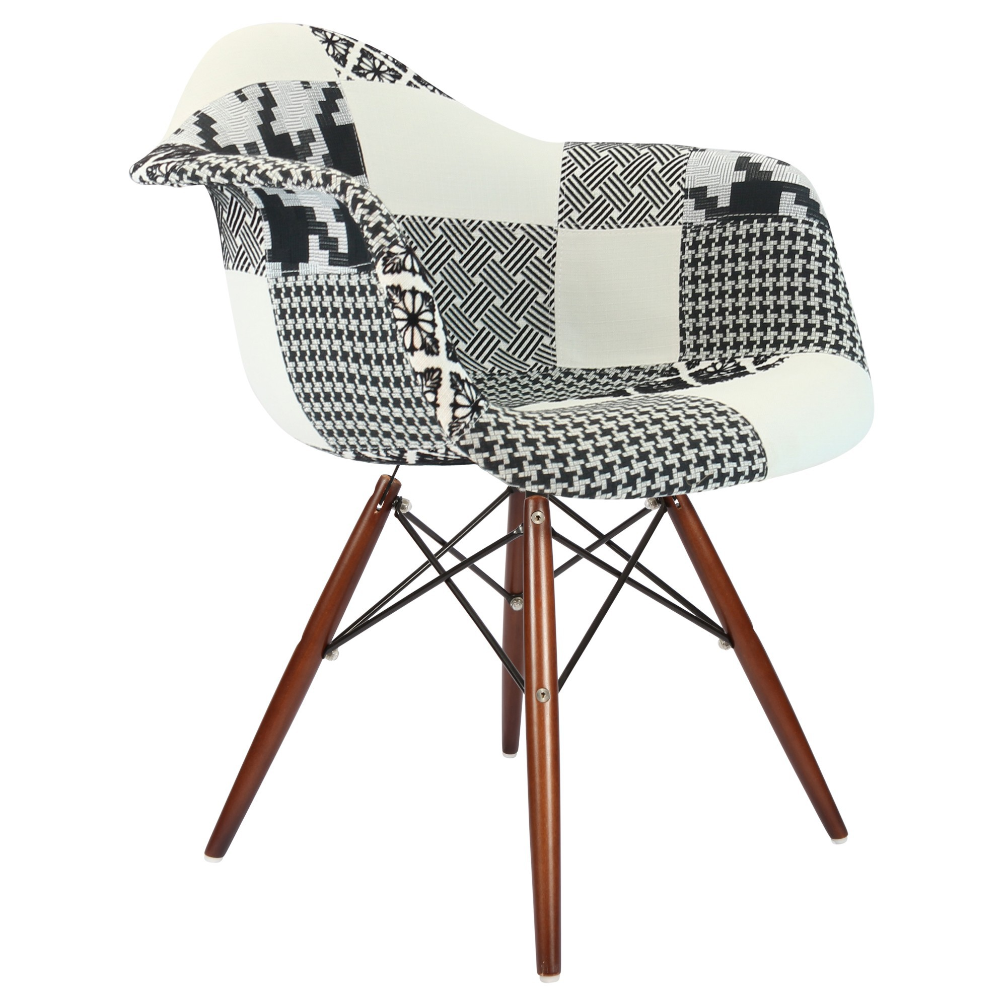 chaise patchwork loading zoom - Chaise Patchwork Eames