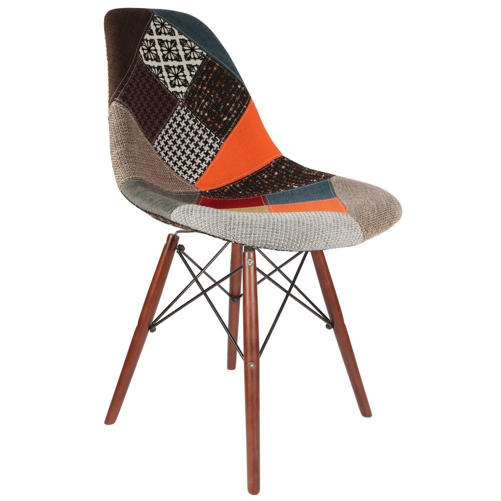 Eames dsw patchwork chair for Rocking chair dsw