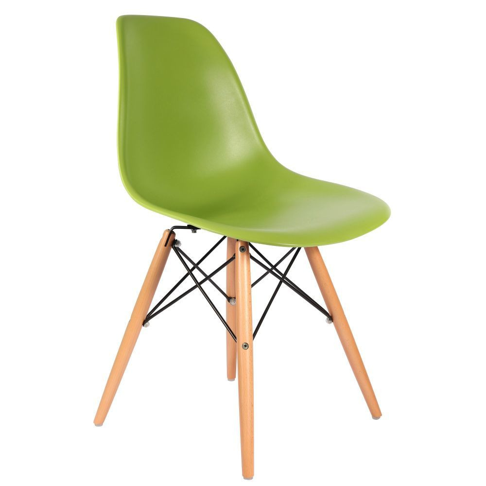 Eames dsw chair for Chaise dsw transparente