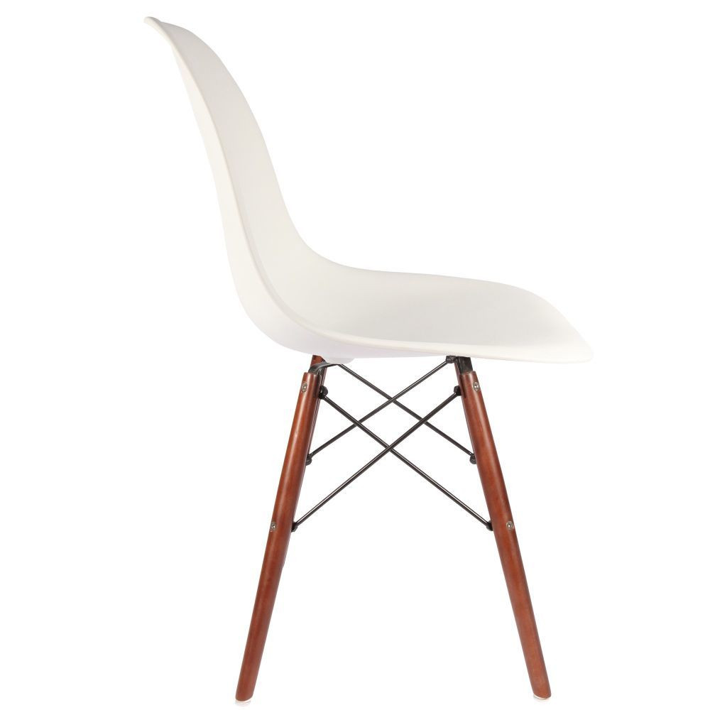 Eames dsw chair walnut legs for Pied chaise dsw