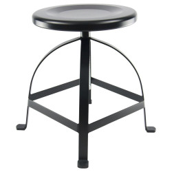 Low Industrial Turner Swivel Stool