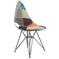 Eames DSW Patchwork Chair