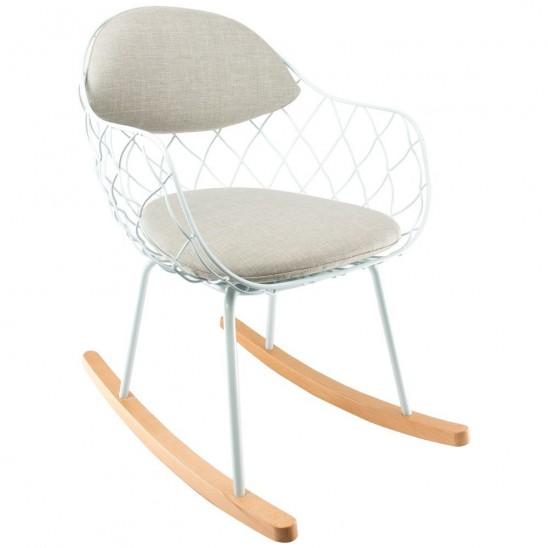 Wire Rocking Chair