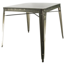 New metal table