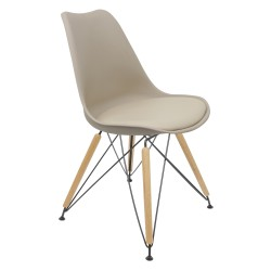 Lips DSR Natural Chair