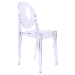 Victoria Ghost Chair inspired to Philippe Starck