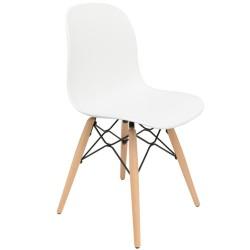 pieds hêtre pour chaise scandinave