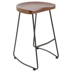 Industrial Barstool Helix