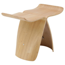 Butterfly Wooden Stool