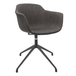 Scandinavian Upholstered Swivel Armchair Avon DFR