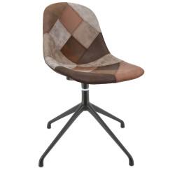 Scandinavian Upholstered Swivel Chair Avon DFR