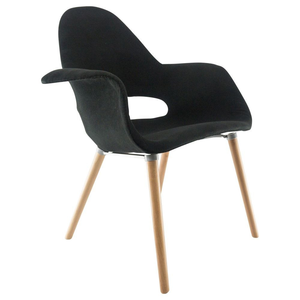 Eames organic chair for Fauteuil eames rocking chair