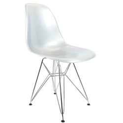 Eames DSR Chair Silver