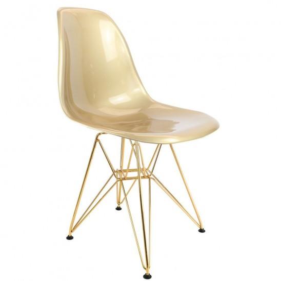 Eames DSR Chair Golden